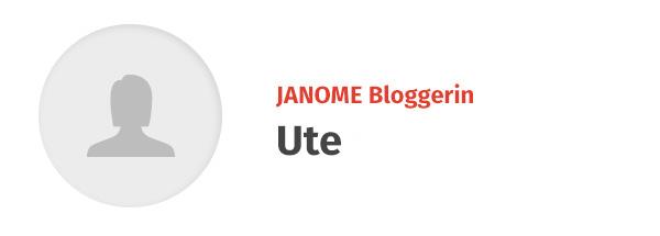Ute - JANOME Bloggerin