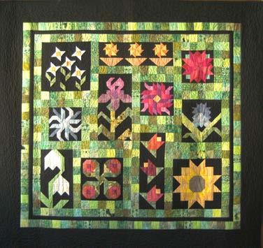 Block des Monats: Quilt - Flower Power