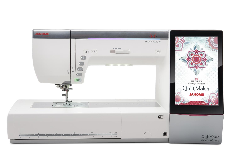 Horizon Quilt Maker Memory Craft 15000 - JANOME Deutschland GmbH