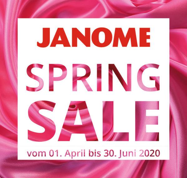 Spring Sale Janome